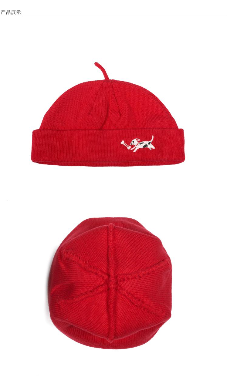 2019 Check Skullcap Watch Cap Docker Hat Short Beanie Unisex Men ... 3463ffec657