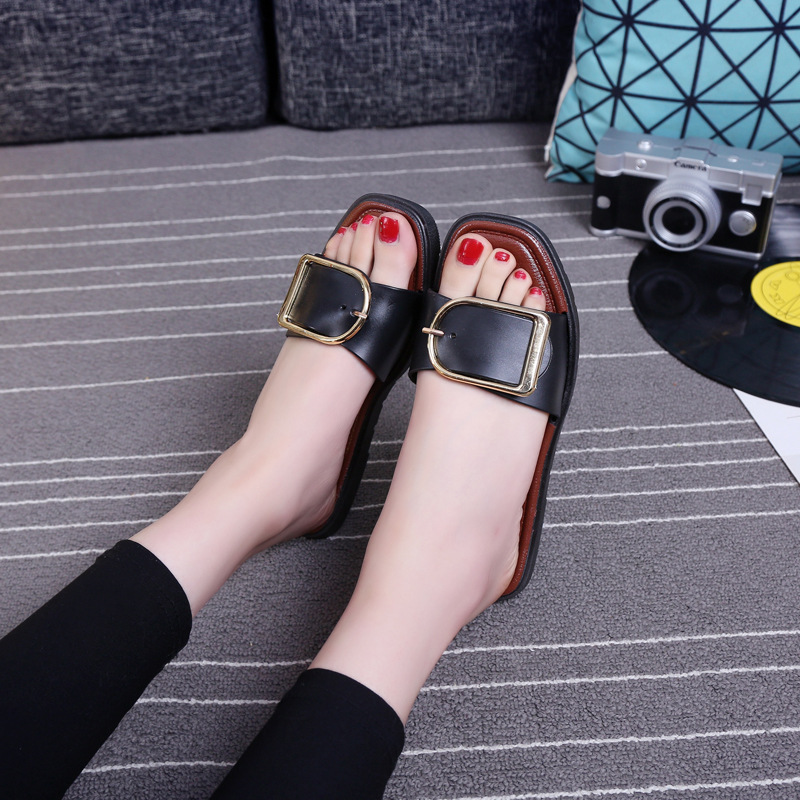 Slippers Shoes Women Ladies Flip Flop Women Slip On Slides Flat New Fashion Homen Female Casual Slipper Sandal Zapatos Mujer beyarne new fashion casual women pointed toe rivet flat bottom shoes women slip on valentine flats candy color zapatos mujer