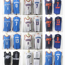500e3c979cad Oklahoma City Russell Westbrook Paul George basketball jerseys for men