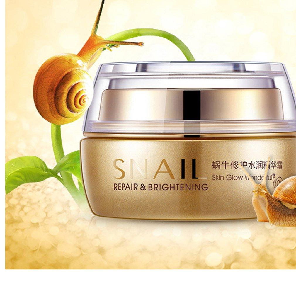 BIOAQUA Natural Snail Essence Cream Facial Cream Moisturizer Whitening Skin Anti Aging Oil Control Shrink Pores Skin Care