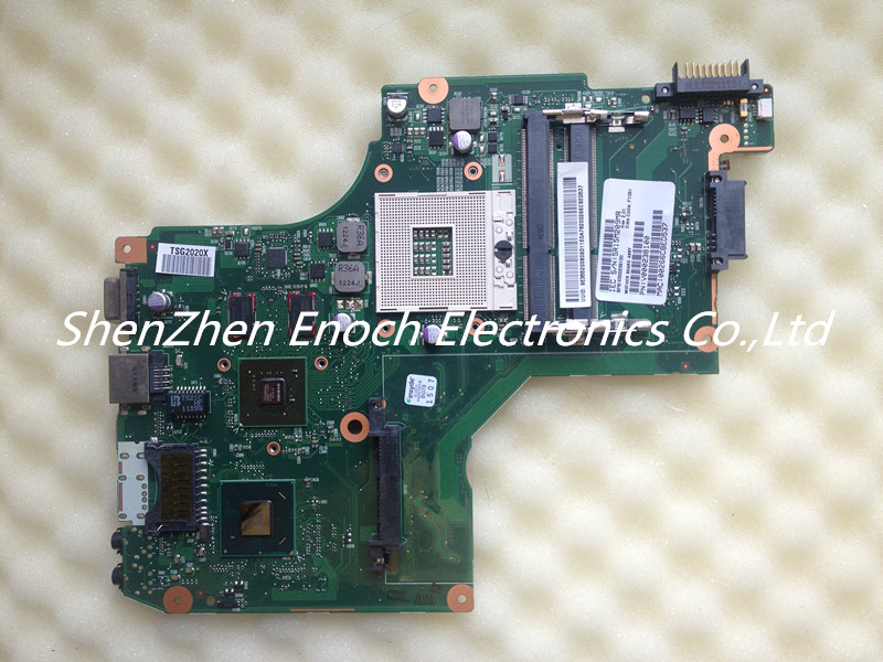 ФОТО For Toshiba Satellite C640 C645 C600  Laptop Motherboard  with graphics V000238100 6050A2448001-MB-A01  stock No.999