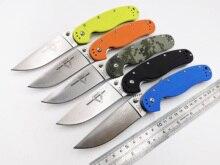 OEM RAT Model 1 Folding Knife AUS-8 Blade Combat Pocket Knife Outdoor Camping Survival Gift Knives Hunting EDC Tool Muti-Colors
