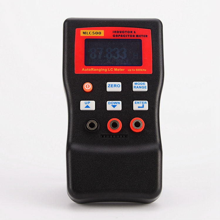MLC500  Electronic Capacitance Inductance Meter Digital Bridge LC Meter Multimeter LC RC Oscillation To 100H 100mF  цены