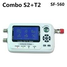 SF-560 SZ del Buscador de Satélite Digital Signal Meter Sáb Plato con Brújula DVB-S/T/S2/T2 SF 560 mejor que SF-500