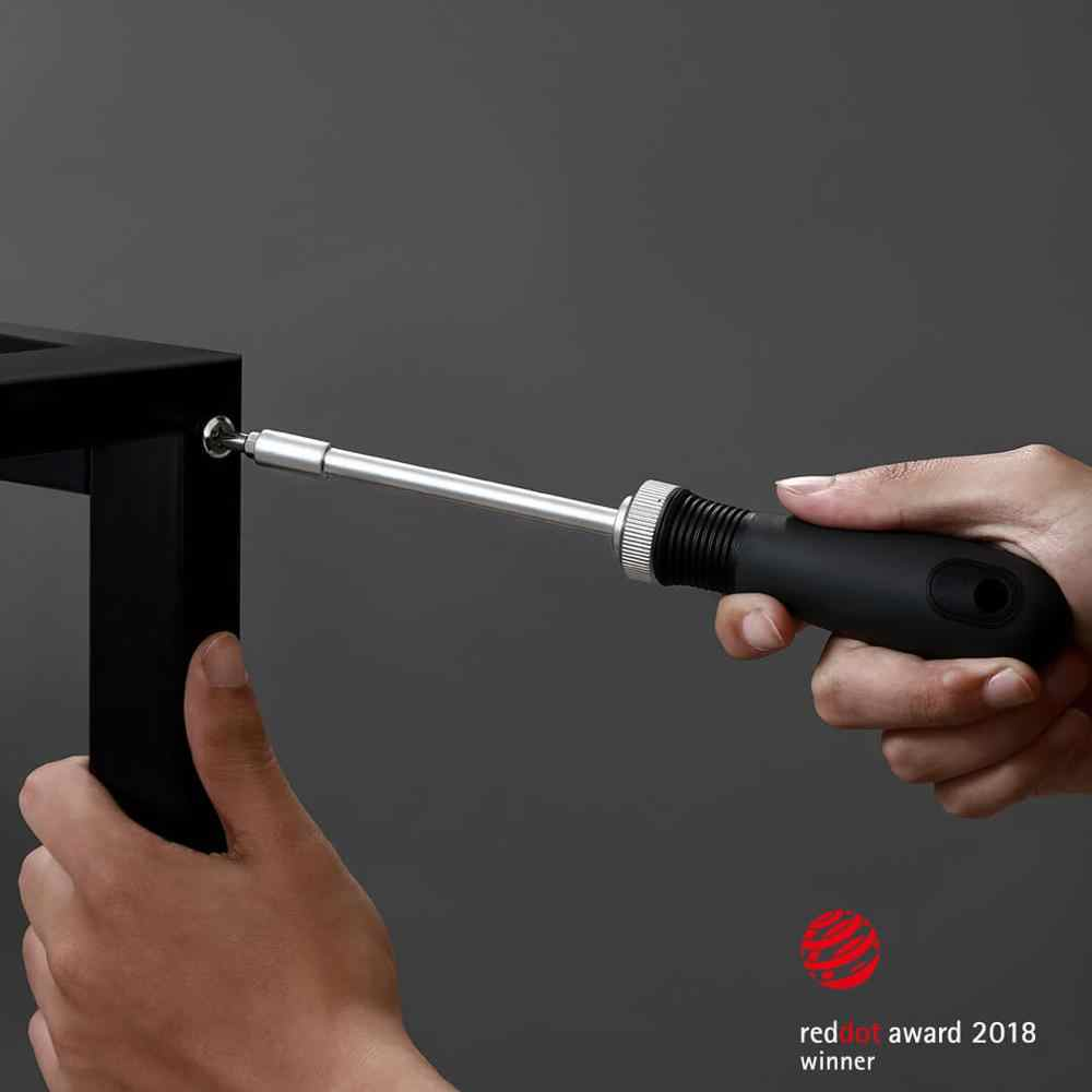 MIIIW Werkzeug Lagerung Box Maßband Schraubendreher Nase Zangen Hammer Hause Wartung Toolbox