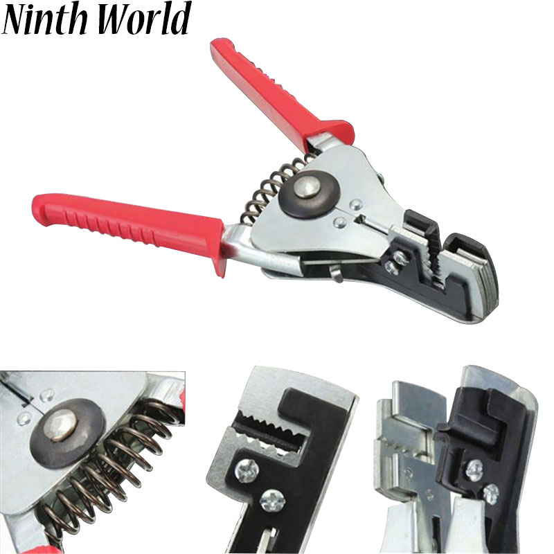 Ninth World Automatic Cable Wire Stripper Stripping Crimper Crimping Plier Cutter Tool Diagonal Cutting Pliers Hand Tool