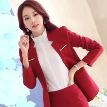 2016 New Fashion Women V neck Blazers Slim Small Leisure Suit Jacket Female Brand Women Blazers 3color
