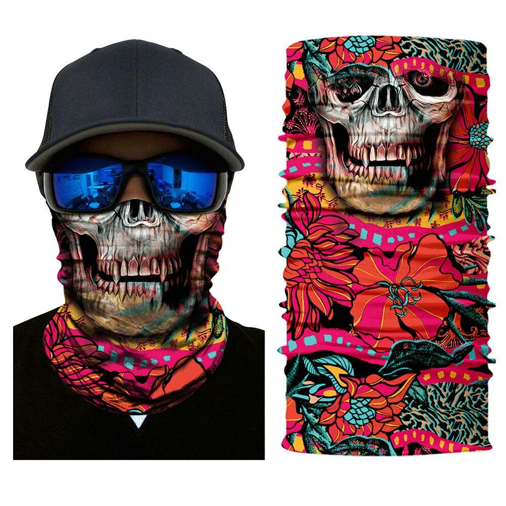 Pink Tiger FACE MASK Sun Shield Neck Gaiter Headband Bandana Du Rag Do Skull Cap