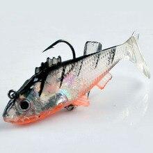 1PCS Hot Fishing Lure 8.5cm 15g Artificial Soft bait Carp Crankbait with Treble Tackle Hooks Fishing accessories
