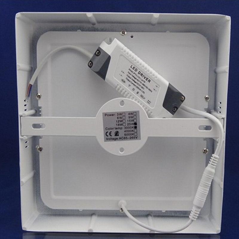 (EICEO) Kvadrat Səthə quraşdırılmış LED Tavan İşıq Paneli - LED işıqlandırma - Fotoqrafiya 3