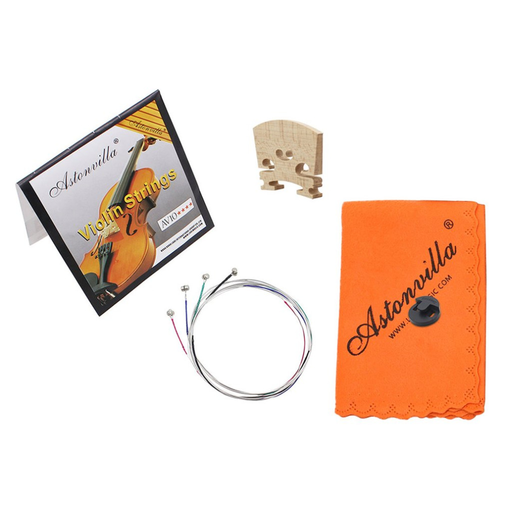 Careful Violin String + Weakling Device + Piano Code + Instrument Accessories 1 Set 4/4 Violin Violin Accessories Dropshipping Ture 100% Guarantee