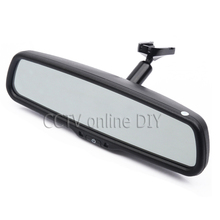 4.3 TFT LCD Car Rear View Rearview Mirror Monitor with Special Bracket 800*480 Resolution 2CH Video Input