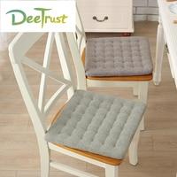 日本スタイル綿椅子枕無地正方形カーシートクッション厚い泡throw枕ホームインテリア用ギフトcojines almofada