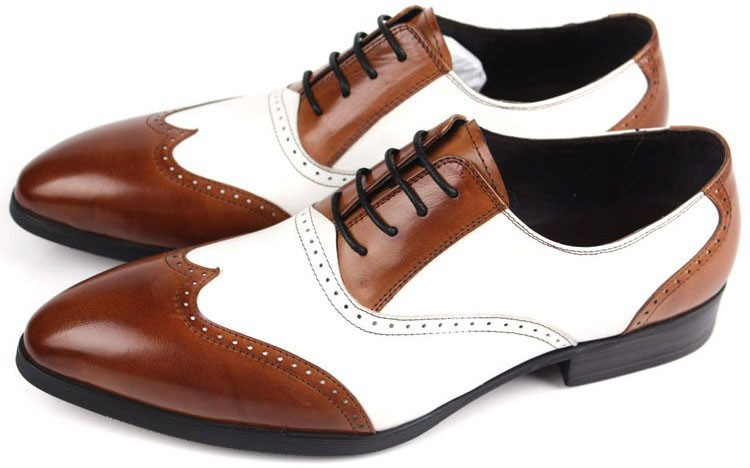 New 2015 men shoes oxfords top quality brown white designer casual new 2015 men shoes oxfords top quality brown white designer casual cowhide genuine leather classic vintage men shoes size38 44 in womens flats from shoes publicscrutiny Choice Image