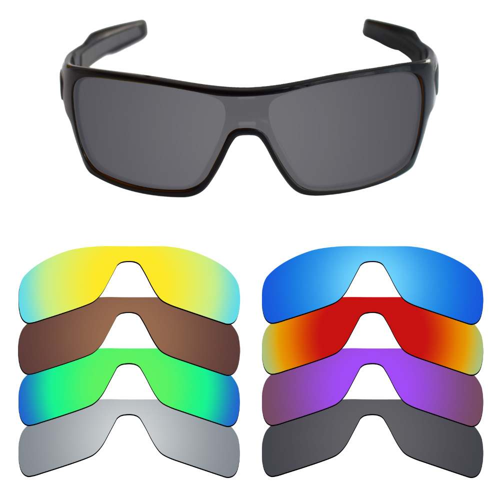Mryok Polarized Replacement Lenses For Oakley Turbine Rotor Sunglasses Lenses(Lens Only) - Multiple Choices