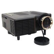 """Desxz Proyector Full HD 60 """"Portable mini Projecteur LED Cinema Theater Projetor Vidéo PC Support Ordinateur Portable VGA pour bureau tv maison"""