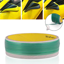 2 adet Araba Sticker Kesim Hattı Knifeless Bant Kaplama Pinstripe Kesme Trim Wrap Araba Aksesuarları DIY Styling 5 M Tasarım hattı