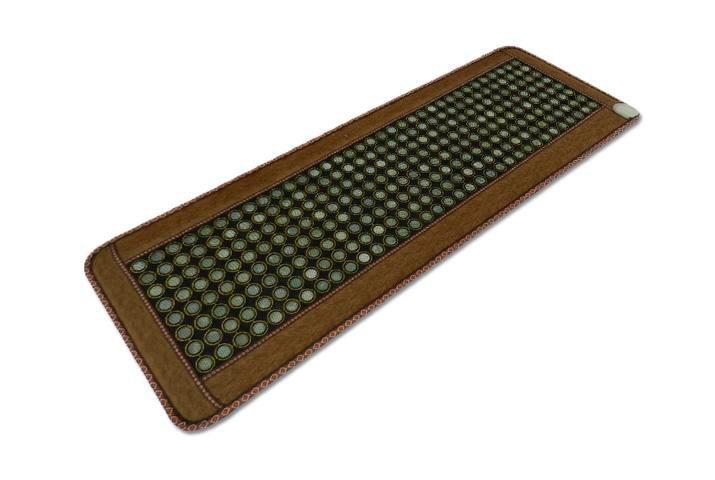 Jade matelas thermique Massage matelas bambou fibre de carbone coussin Jade matelas Jade coussin électrique chauffé 50*150 CM le plus chaud!!