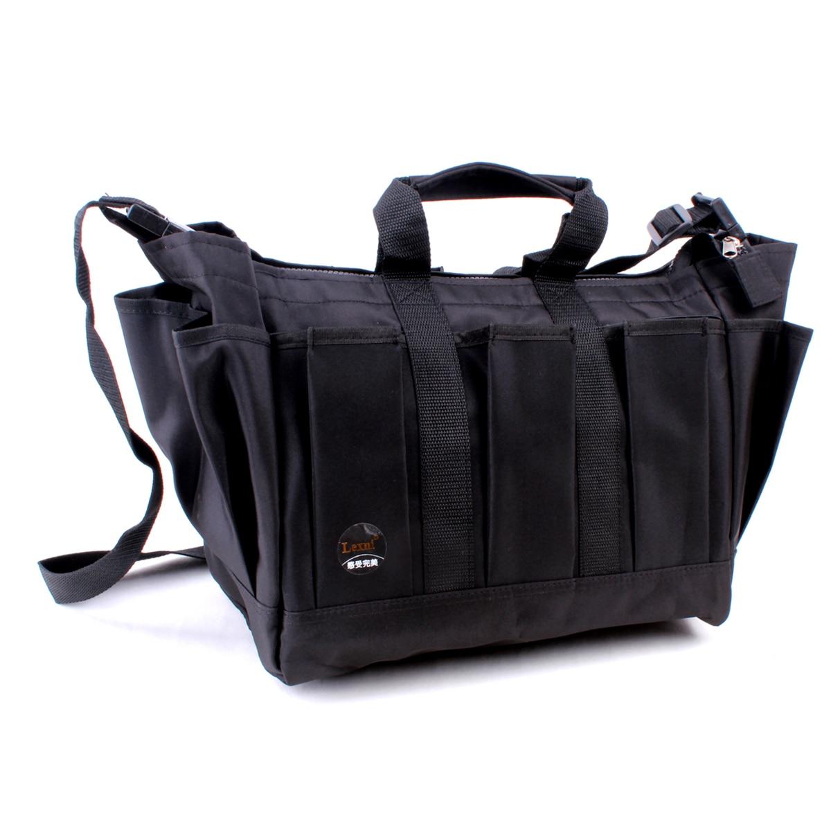 Portable Extra Large Hair Scissors Bag Waterproof XL Size Makeup Accessories Box Barber Case Adjustable Waist