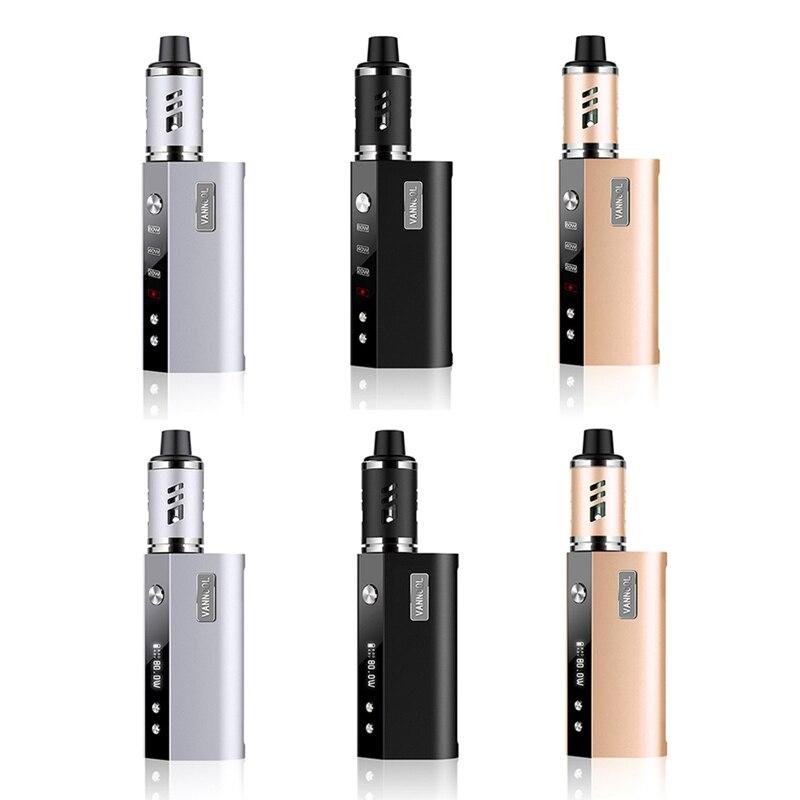 Vape Mod Box VANNOOL Vaper Smoker Vaporizer Big Smoke Vaping Hookah 80W Huge Vapor Mech 2000mAh Electronic Cigarette
