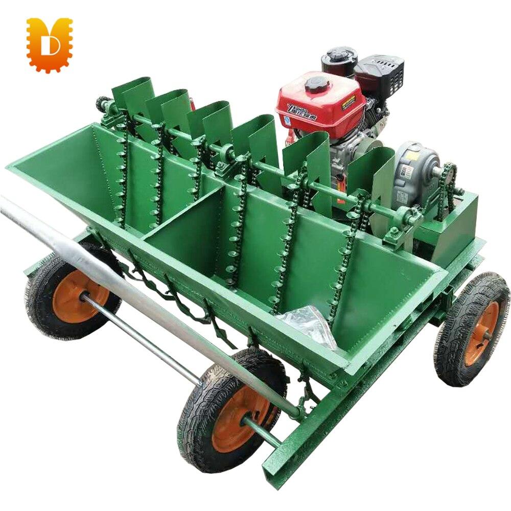 ▻6 líneas auto-pie siembra de ajo máquina sembradora ajo plantador ...