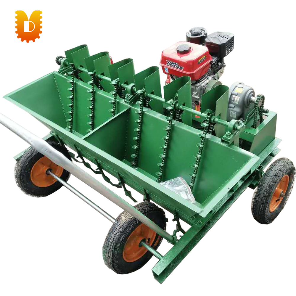 6 lines Self-walking garlic planting machine garlic seeder garlic planter цена и фото
