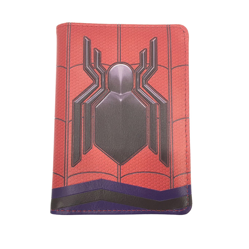Deadpool Marvel Comic Hero Leather Travel Card Slots Wallet Passport Holder