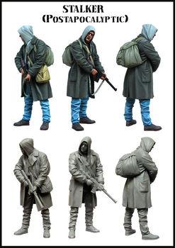 [tuskmodel] 1 35 scale resin model figures kit E120 1