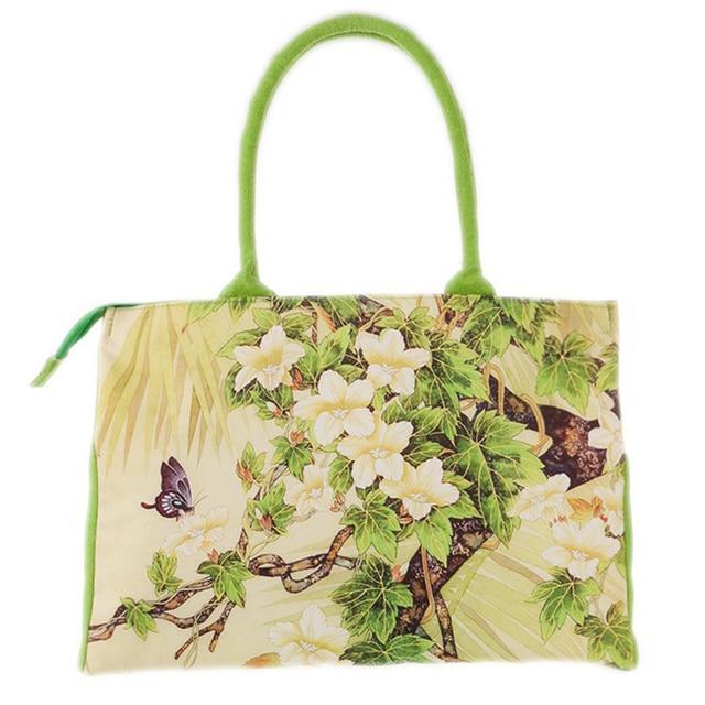 Fabulous bags handbags women Digital Printing beautiful floral canvas  FG91