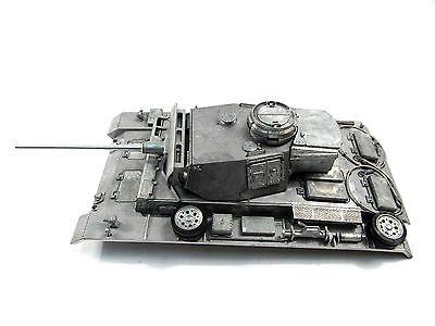 Mato 1/16 German Panzer III RC Tank Metal Upper Hull With Turret MT139 tamiya model tank rising german marder iii weasel antitank guns 35248 on its own