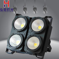 Professional Audience Light PAR LED 4x100W COB cool white and warm white Lighting LED Par Light For Stage Event Party Disco
