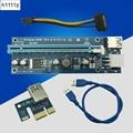 Usb 3 0 Pci-E Express 1X To16X удлинитель Riser Card Adapter с 60 см Usb 3 0 кабель-удлинитель для Bitcoin Btc шахтерского устройства