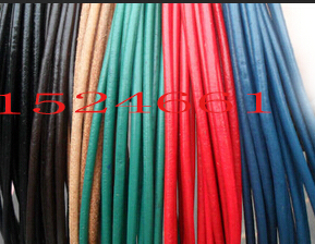 10meters/lot 2mm Diameter Genuine Round Cow Leather Cord Jewelry Cord  *waxed Thread For Leather Leather Cord Rope Copper Wire