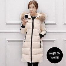 Winter Coat Women 2016 New Women Down Coat Jacket Thickening Warm Medium Length Woman Down Parka