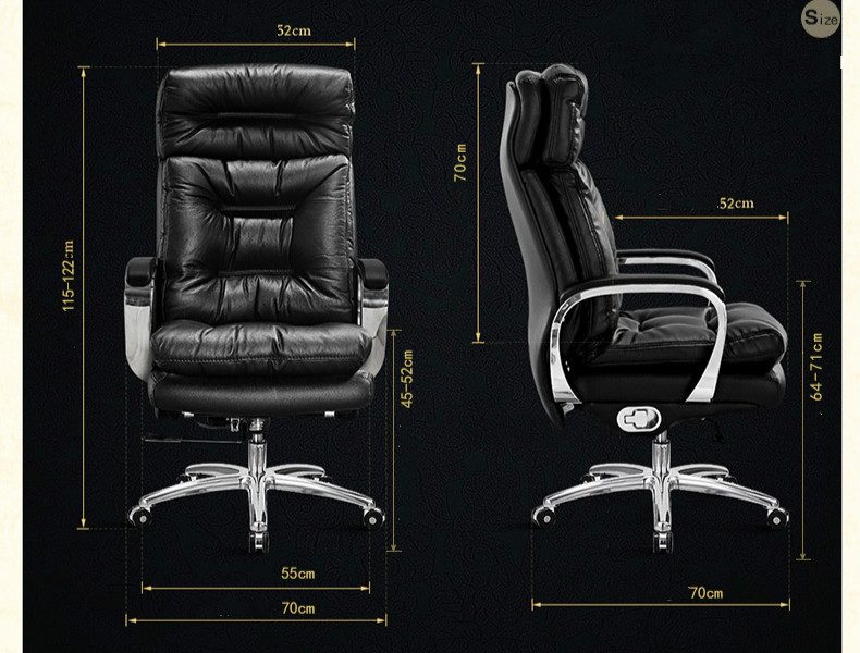 high quality office chairs ergonomic geeken revolving chair price genuine leather executive reclining computer lying massage lifting boss sedie sku 32786149835