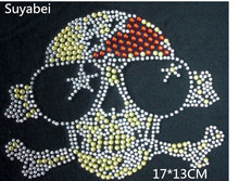 2pc/lot Skull design stone patches strass hot fix rhinestones motif iron on crystal transfer applique patches for shirt shoes 2pc lot ballet dancer rhinestones motif hot fix rhinestones motif iron on crystal transfer applique patches for shirt shoes