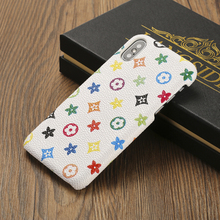 Leather Flower Phone Case iPhone 5 5s 6 6s Plus 7 7 Plus 8 X