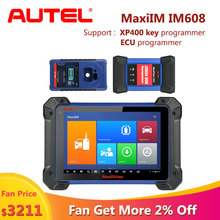Autel MaxiIM IM608 car diagnostic auto scania scanner obd2 diagnostic for car ECU key programmer scaner automotriz profesional