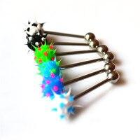 бесплатная доставка язык кольцо разбора Silicone коош мяч 100 шт./подарок рекламные лот много цвет