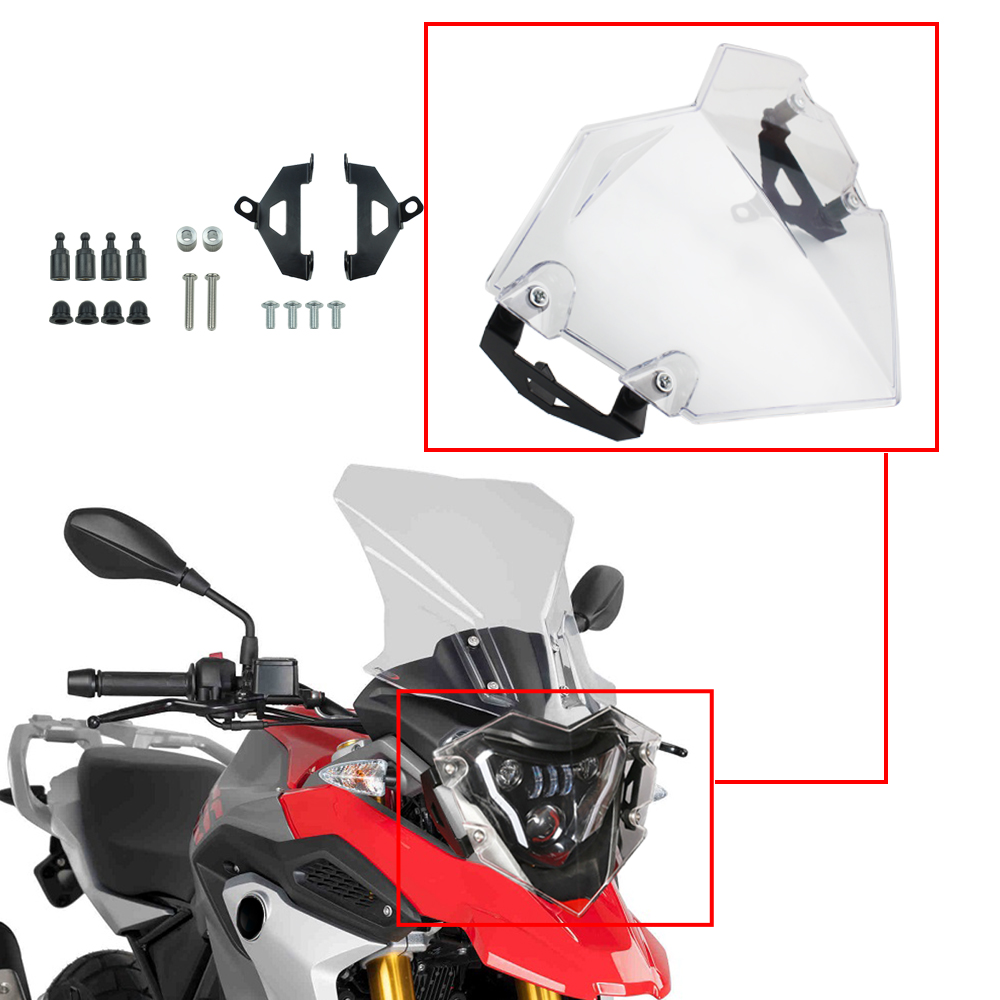 Clear Headlight Protective Covers For BMW G310 GS R 2017 2018