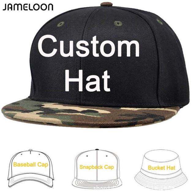 934da25dd8b Online Shop 50pcs  lot Customize make Snapback Caps DIY Embroidery Printing  Logo Own Design Baseball Hats Fashion Cap Mixed Styles