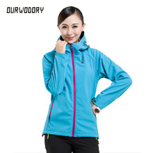 Top fashion women's jacket warm waterproof female outdoors fleece Windbreaker coats men women Softshell jacket windproof couples(China)