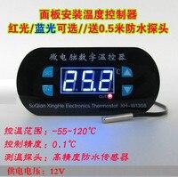 XTWH-W1308 temperaturregler digitaler temperaturregler schalter kühlung/heizung einstellbare ic...