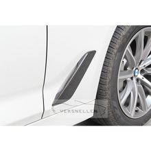 G30 2PC Replacement Car Styling Carbon Fiber Fender Trim For BMW 5 Series G30 2017