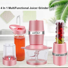 500W Portable Juicer Listrik Smoothie Blender Mesin Mixer Juice Mini Smoothie Blender Juicer Extractor Penggiling Daging(China)