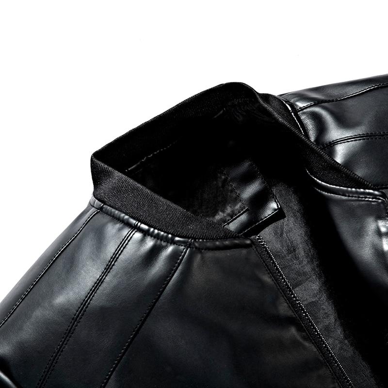 տաք վաճառք նոր տղամարդկանց կաշվե - Տղամարդկանց հագուստ - Լուսանկար 3
