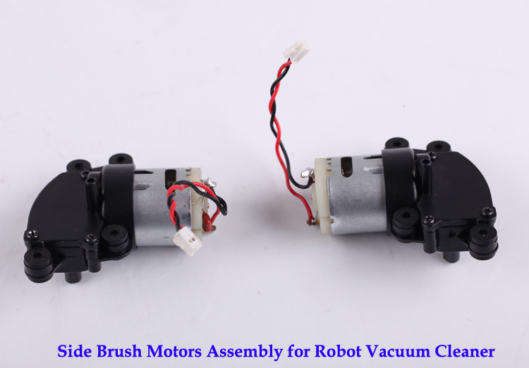 (For A335, A338, A320) Side Brush Motor Assembly for Robot Vacuum Cleaner, 1pc/pack side brush motors assembly for panda x500 vacuum cleaning robot including left motor assembly x1pc right motor assembly x1pc