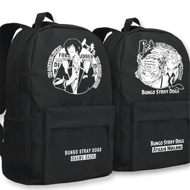 Anime Bungou Stray Dogs Backpack College Student School Rucksack Book Bags For Teenagers Casual Travel Daypack Mochila #2