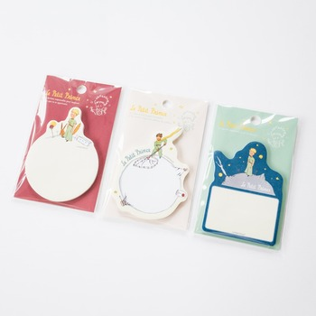 цена на 30 pcs/Lot Le petit prince sticky notes Cartoon memo pad Post paper sticker Cute Stationery Office School supplies FM625