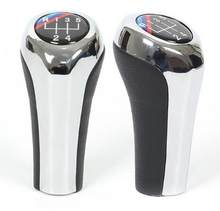 5 6 Speed Chromed MT Gear Shift Knob Fit for BMW E46 E53 E60 E61 E63 E65 E81 E82 E83 E87 E90 E91 E92 1 3 5 6 Series X1 X3 X5 M L(China)